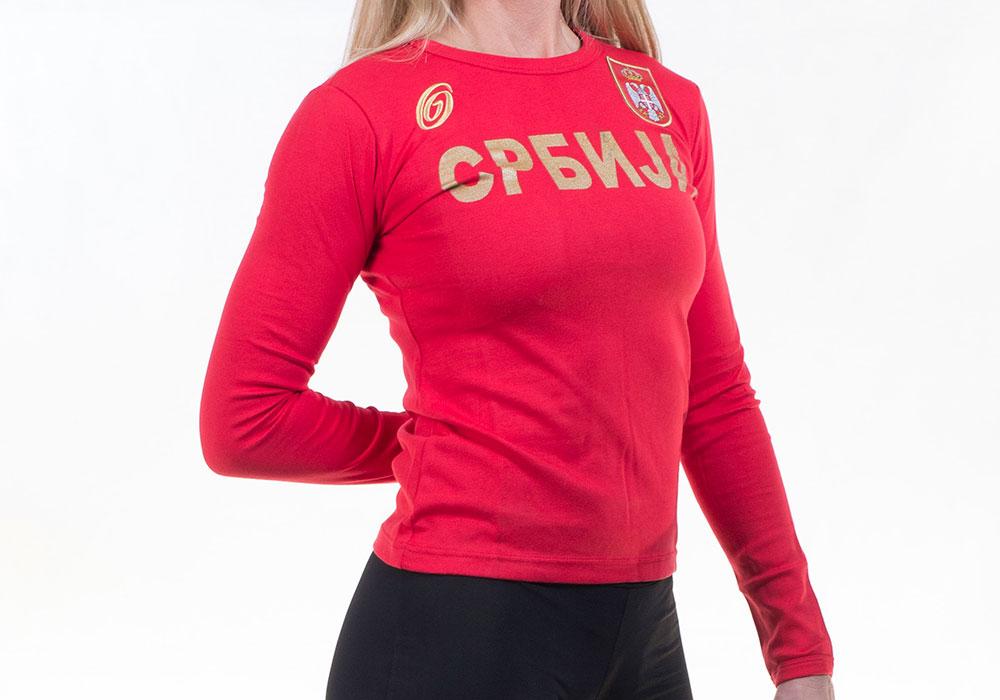 zenska majica srbija