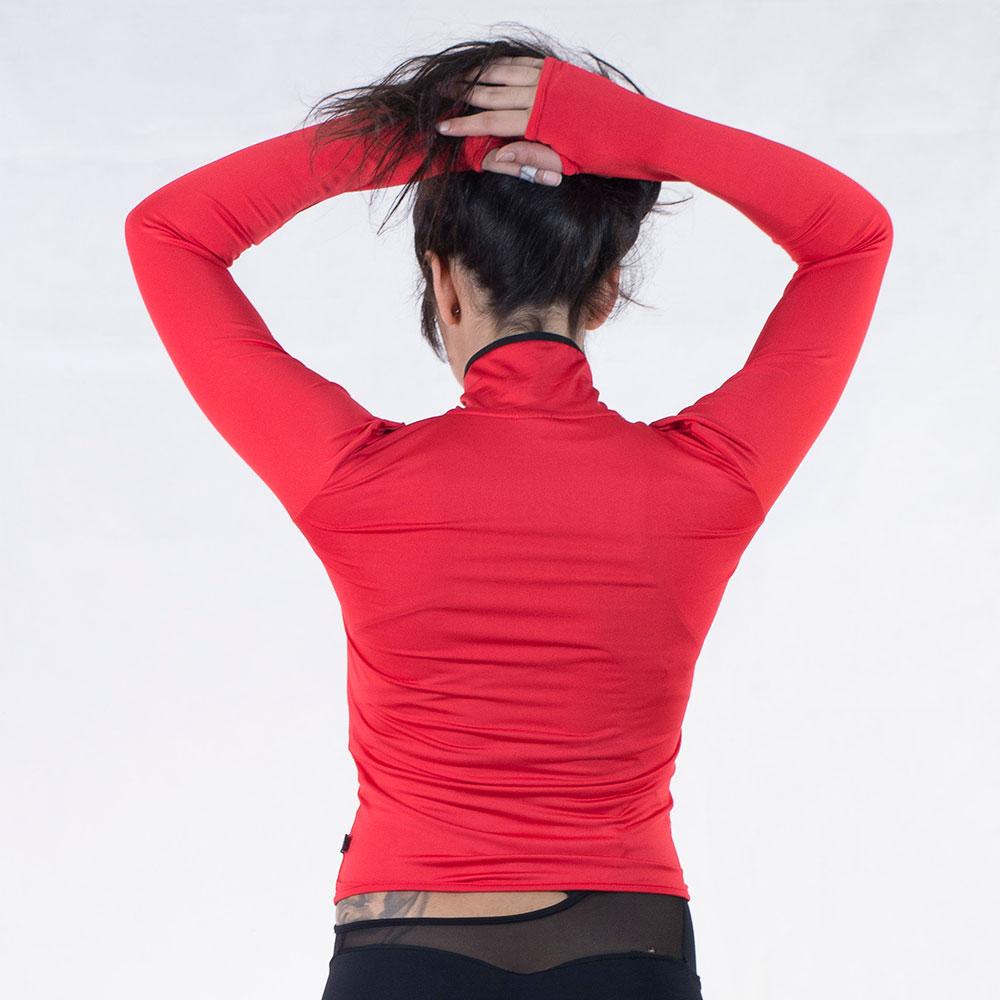 ženski duks sport crveni