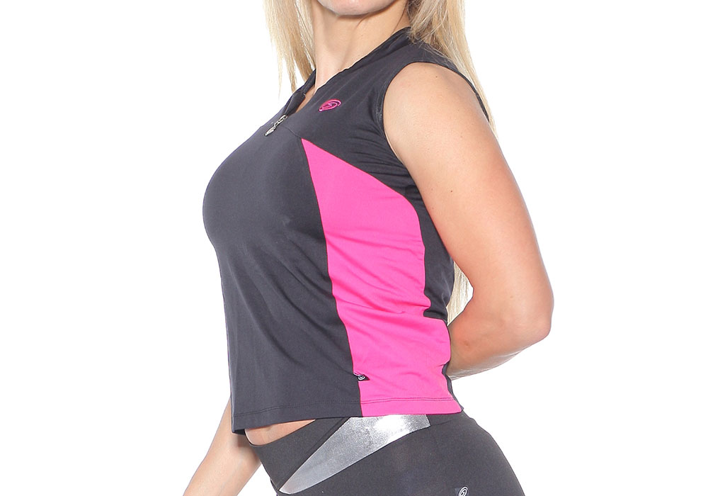 ženska majica za fitness